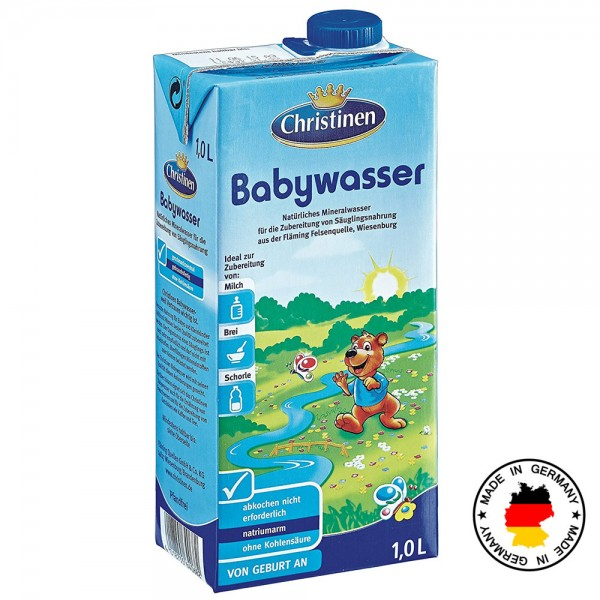 Apa pentru bebelusi Christinen de la nastere 1 L