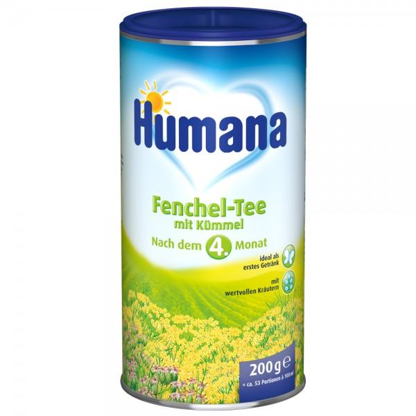Ceai Humana de fenicul de la 4 luni 200 g