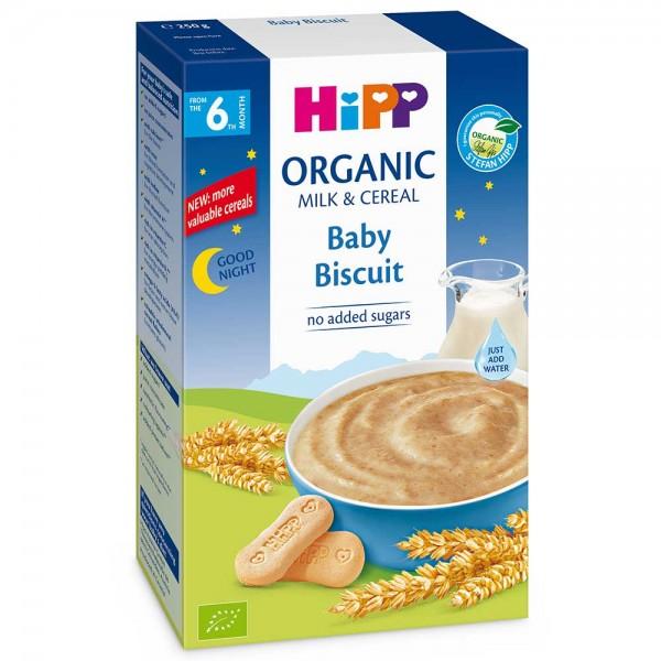 Cereale Hipp cu lapte noapte buna cu biscuitul copilului de la 6 luni 250 g