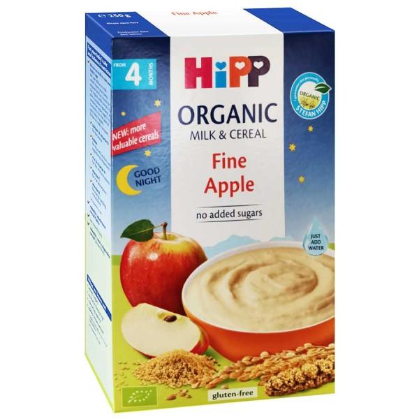 Cereale Hipp cu lapte noapte buna cu mar de la 4 luni 250 g