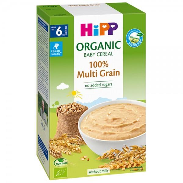 Cereale Hipp fara lapte multicereale de la 6 luni 200 g