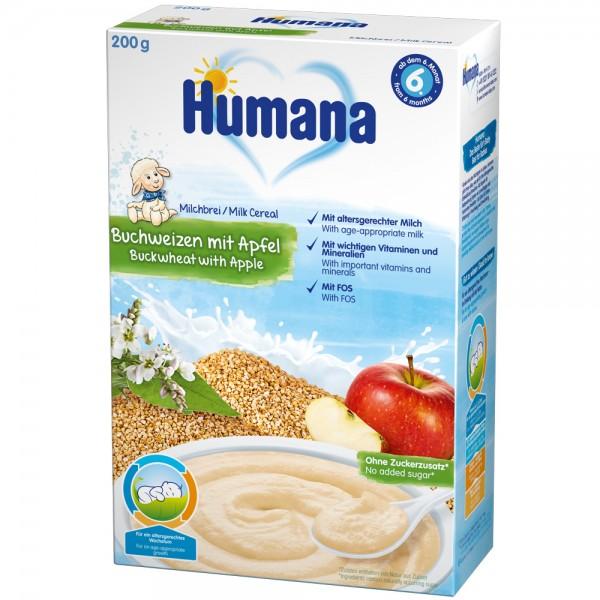 Cereale Humana cu gust de mar si hrisca de la 6 luni 200 g