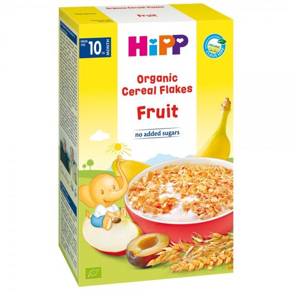 Fulgi de cereale Hipp ecologice cu fructe de la 10 luni 200 g