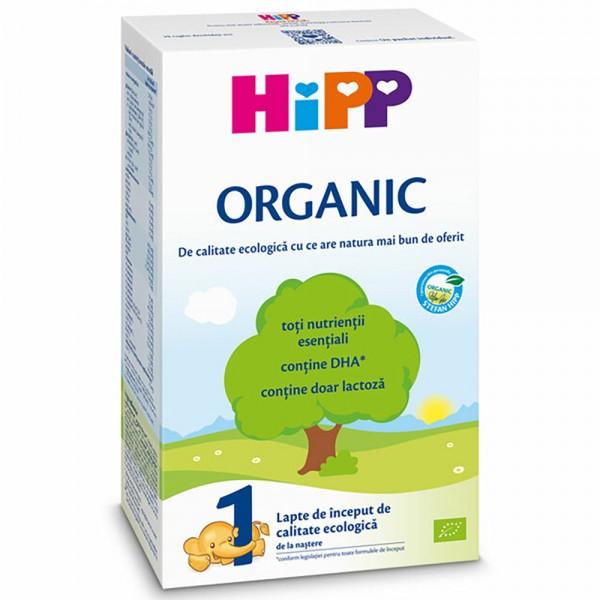 Lapte praf Hipp 1 Organic de la nastere 300 g