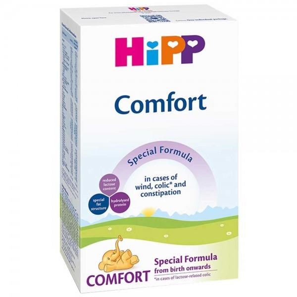Lapte praf Hipp Comfort pentru colici si constipatie de la nastere 300 g
