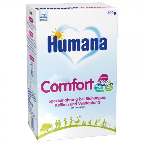 Lapte praf Humana Comfort Anticolic de la nastere 500 g