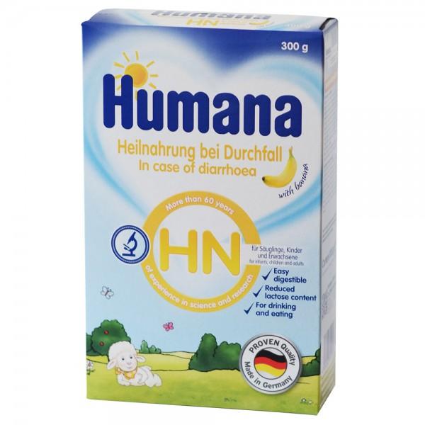 Lapte praf Humana HN pentru diaree cu gust de banane de la nastere 300 g