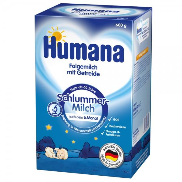 Lapte praf Humana de noapte de la 6 luni 600 g