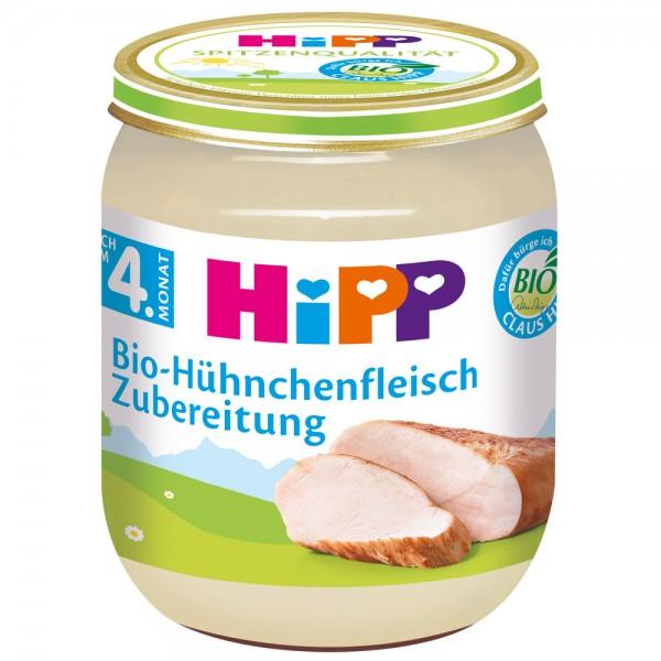 Meniu Hipp carne de pui de la 4 luni 125 g