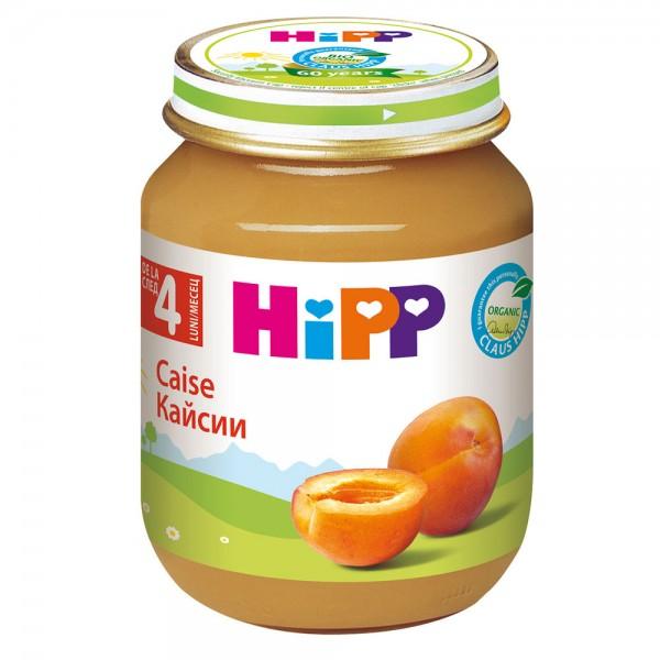 Piure de fructe Hipp caise de la 4 luni 125 g