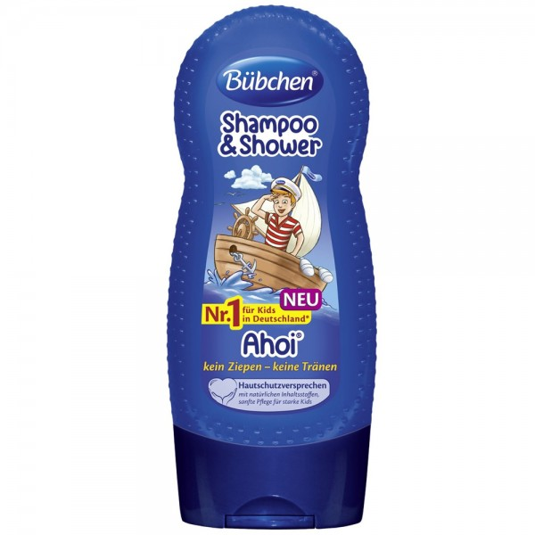 Sampon si gel de dus Bubchen Shampoo & Shower Ahoi 230 ml