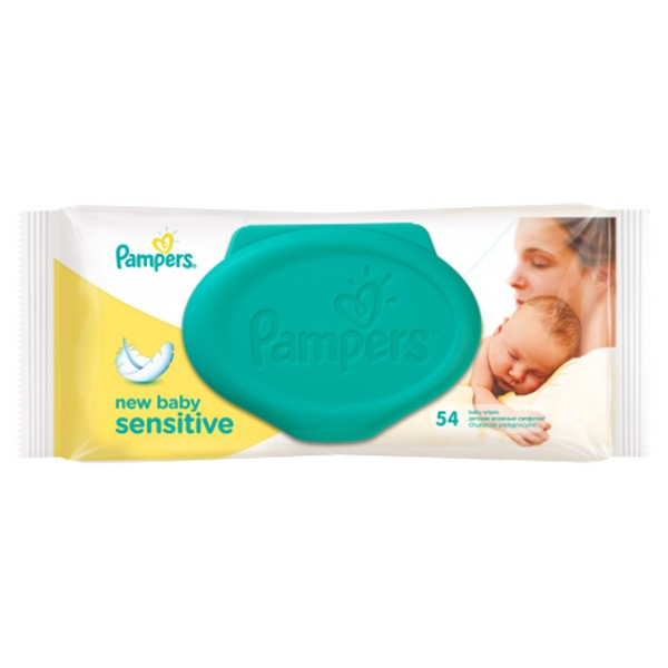 Servetele umede Pampers New Baby Sensitive 1 54 buc