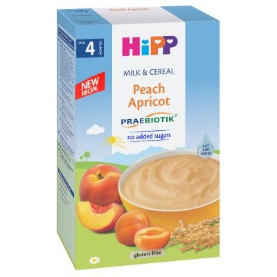 Cereale Hipp cu lapte piersici si caise de la 4 luni 250 g
