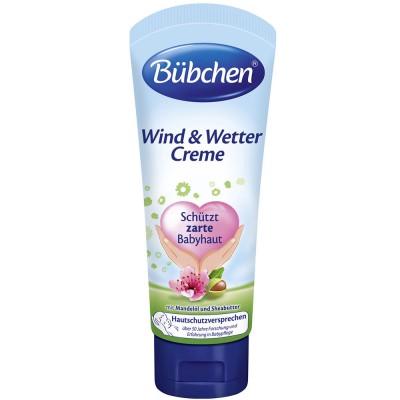 Crema protectoare Bubchen impotriva vantului 75 ml