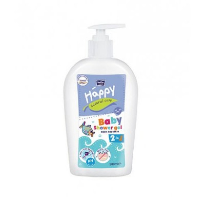 Gel de dus Bella Baby Happy Natural Care 300 ml