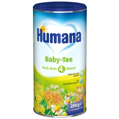 Ceai Humana stomacelul copilului de la 4 luni 200 g