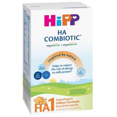 Lapte praf Hipp HA 1 Combiotic hipoalergenic de la nastere 350 g