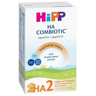 Lapte praf Hipp HA 2 Combiotic hipoalergenic de la 6 luni 350 g