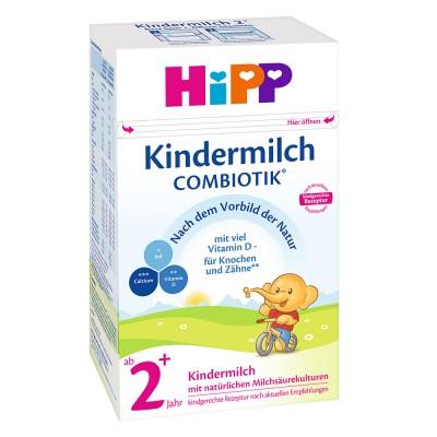 Lapte praf Hipp Kindermilch 2+ Combiotik de la 2 an 600 g