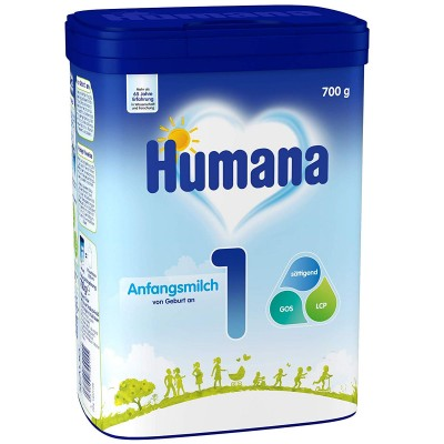 Lapte praf Humana 1 de la nastere 700 g germania