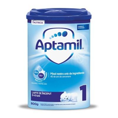 Lapte praf Aptamil 1 de la nastere 800 g