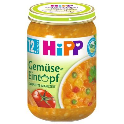 Meniu Hipp tocanita de legume de la 12 luni 250 g