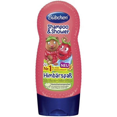 Sampon si gel de dus Bubchen Shampoo & Shower Himbarspaß 230 ml