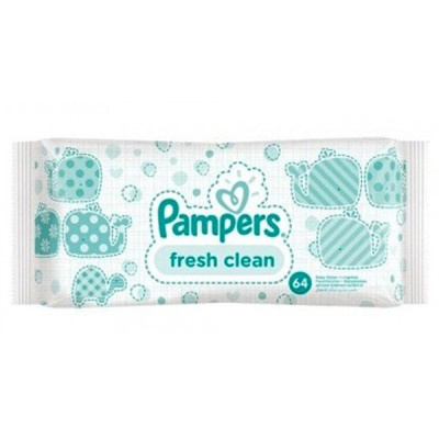 Servetele umede Pampers baby fresh clean 64 buc